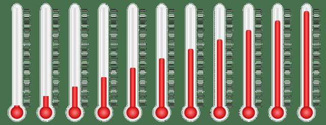 Wechselduschen-Wassertemperatur